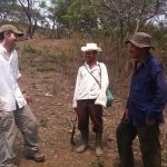 photo of discussions with farmers in El Salvador